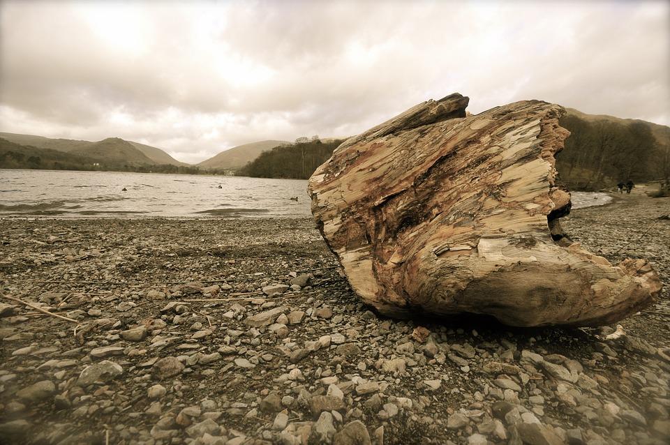 Lake, Grasmere, Wet, Water, Mountains, Cumbria