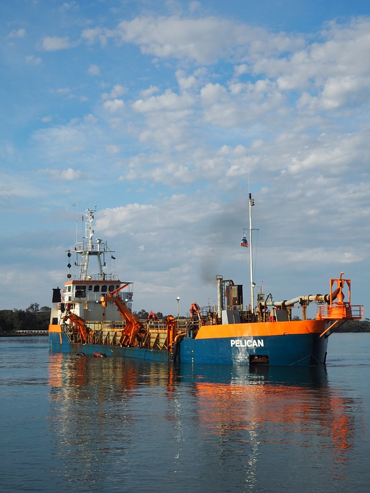Pelican, Boat, Ship, Water, Lakes Entrance