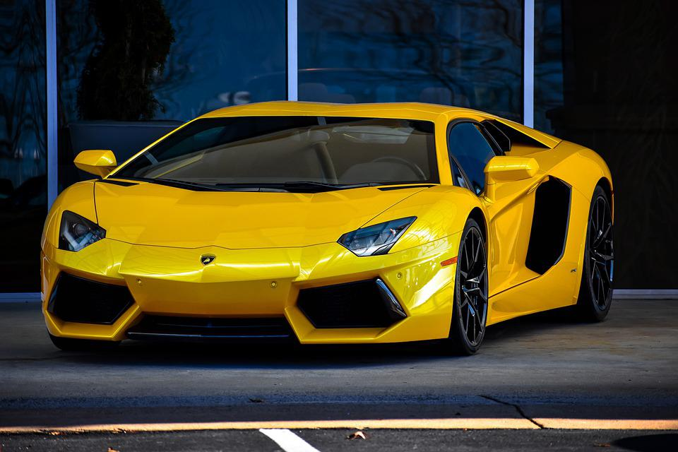 Lamborghini, Yellow Car, Car, Car Model, Vehicle, Auto