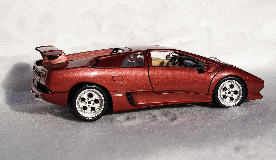 Model Car, Lamborghini, Diablo, Vehicles, Model