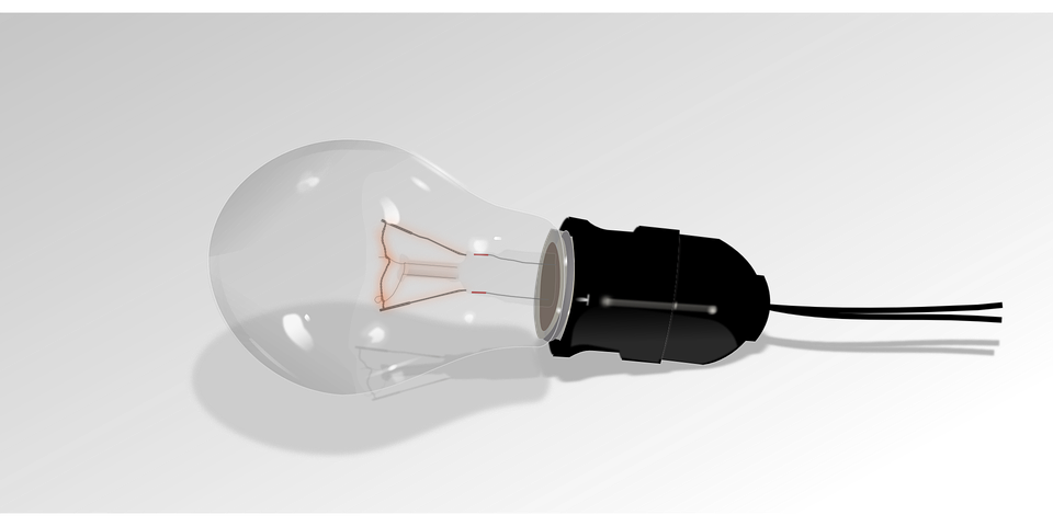 Light, Bulb, Lamp, Electric, Electric Bulb, Think