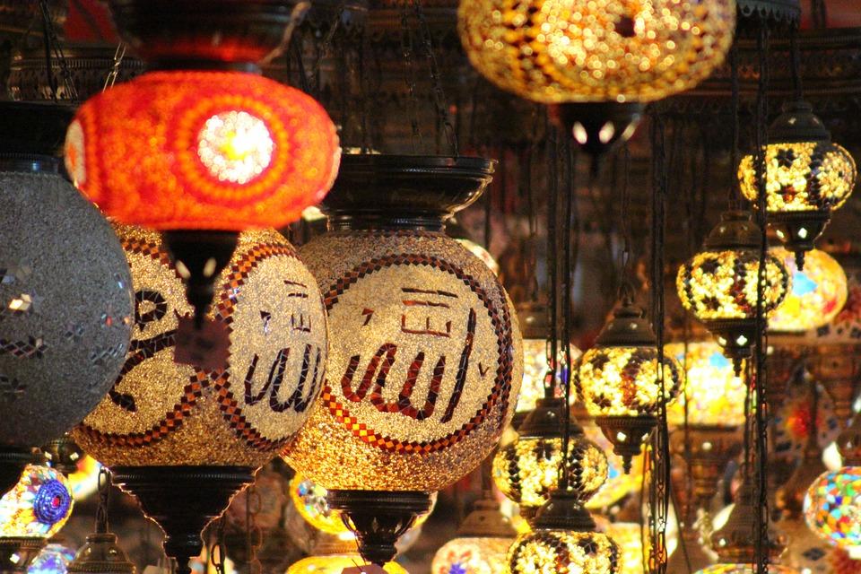 Lantern, Market, Celebration, Decoration, Lamp