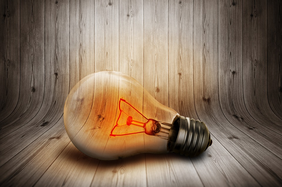 Light Bulb, Light, Current, Lighting, Lamp, Pear