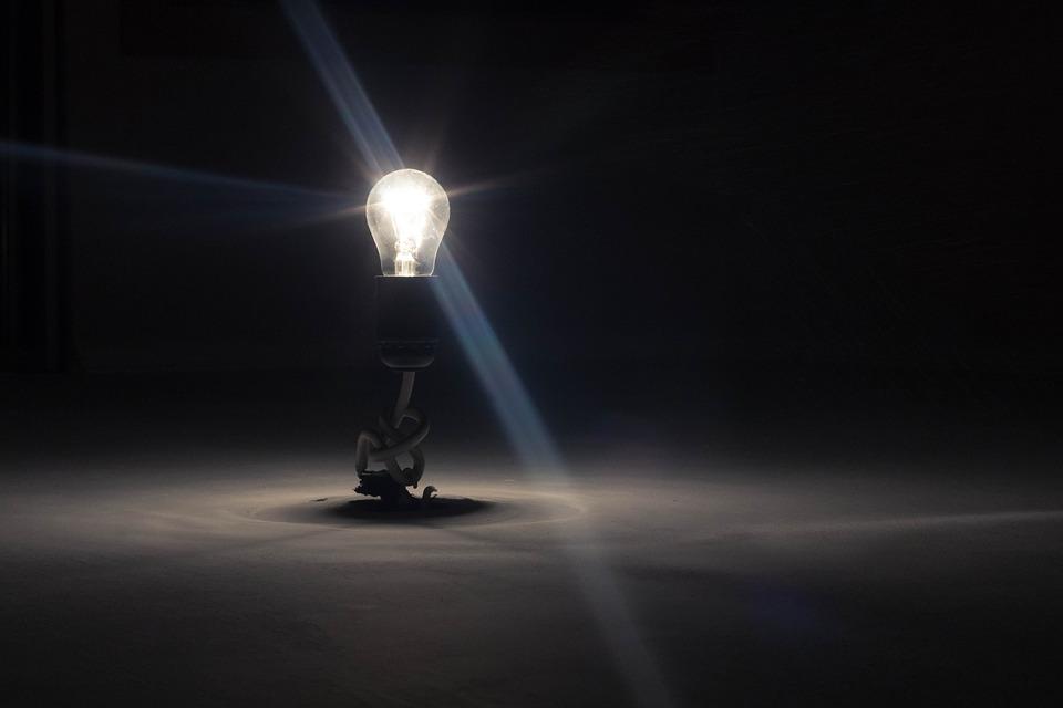 Lightbulb, Lamp, Light, Hotspot