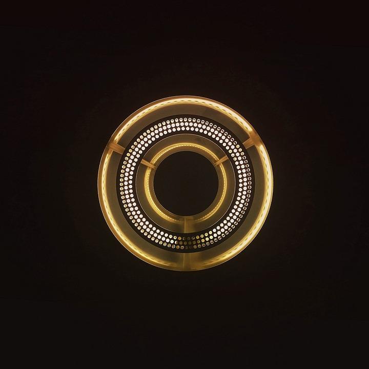 Light, Circle, Shape, Lamp, Illumination, Round