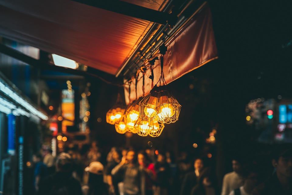 Lamp, Road, Ambience, Lantern, City, Light, Night