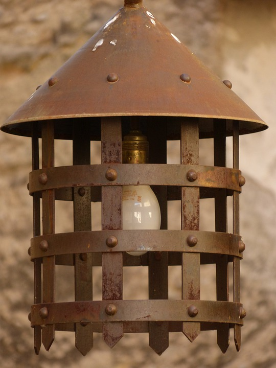 Lamp, Lantern, Street Lamp, Medieval Street Lighting