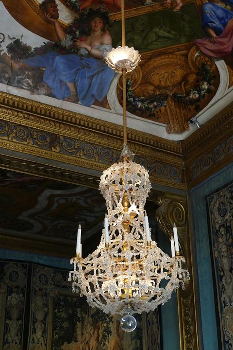 Chandelier, Lamp, Glass, Light, Lighting, Ceiling