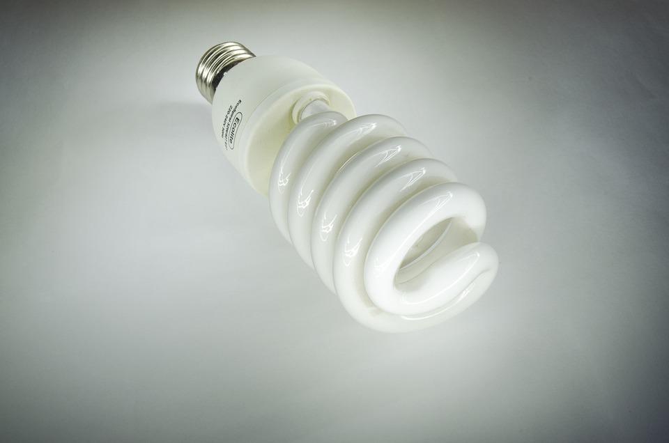 Lamp, Light, Energy Saving Lamp, Electricity