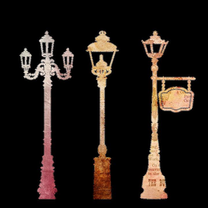 Lantern, Streetlamp, Lamp, Urban, Street, Light