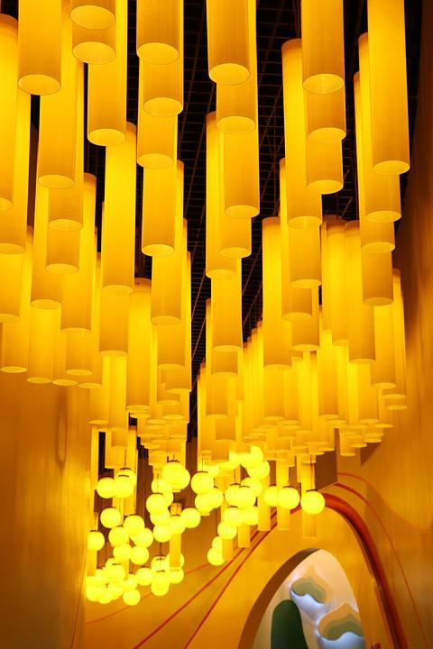 Building, Light, Warm, Roof, Lamp, Love, Chandelier