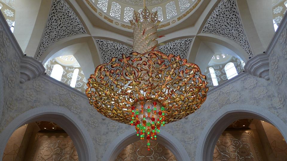 Lamp, Precious Stones, Great Mosque