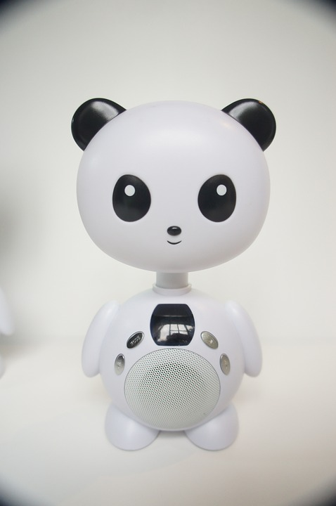 Toy, Bear, Lamp, Panda, Speaker