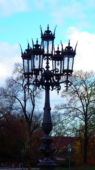 Lantern, Historic Street Lighting, Street Lamp, Lamp