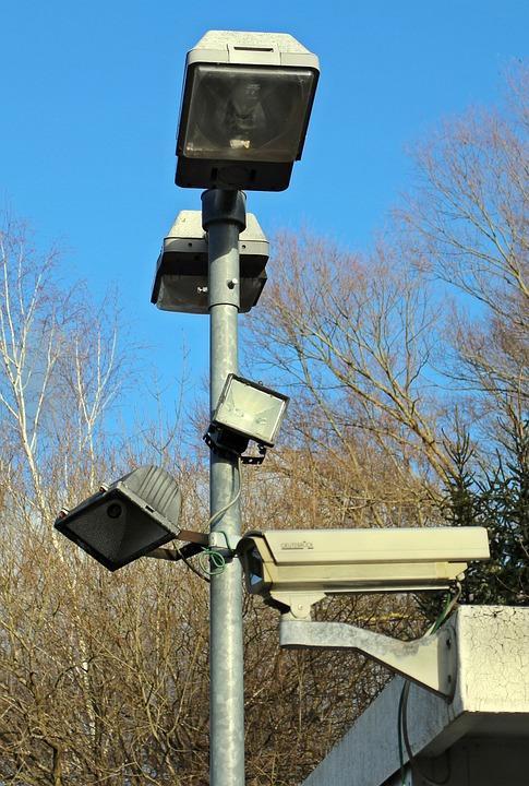 Security, Lamps, Lantern, Lighting, Camera, Light