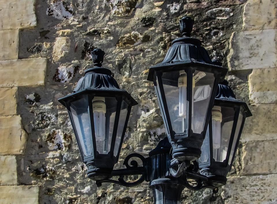 Lamps, Elegance, Wall, Street