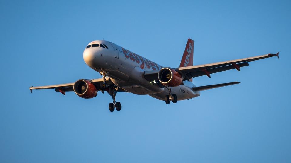 Aircraft, Land, Landing, Travel, Vacations, Flying