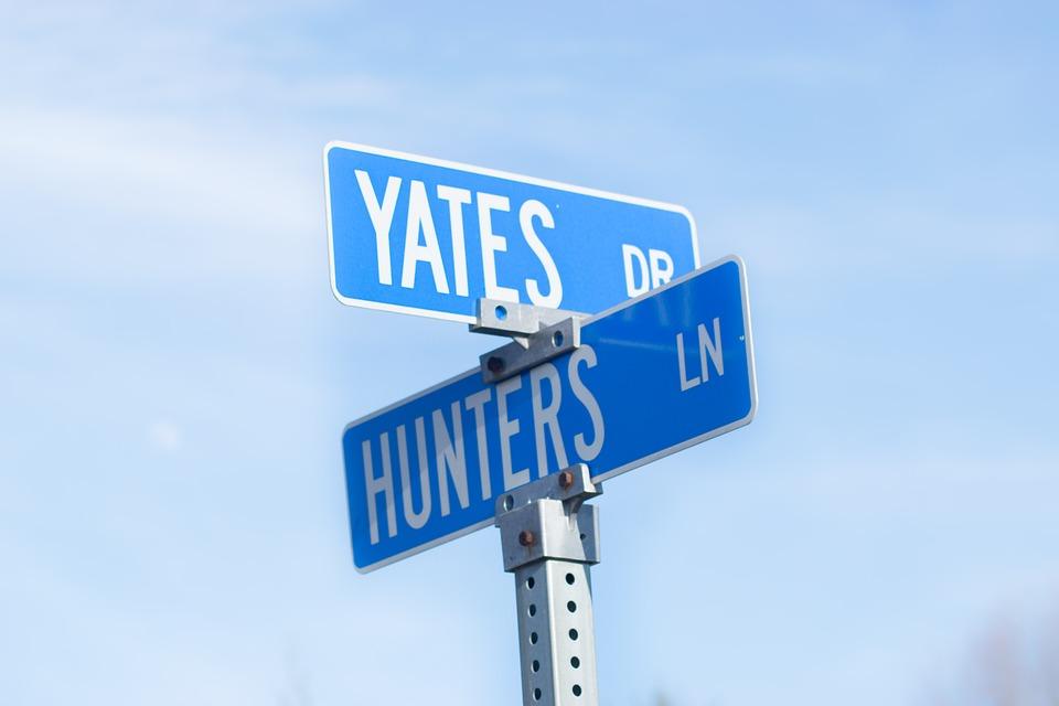 Street Sign, Land Marker, Street, Sign, Landmark, City