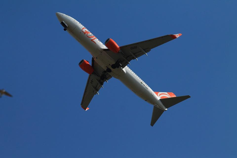 Plane, Goal, Flying, Landing