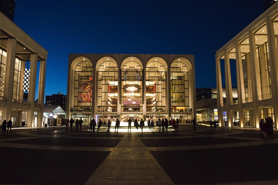 Lincoln Center, Nyc, New York, Landmark, America