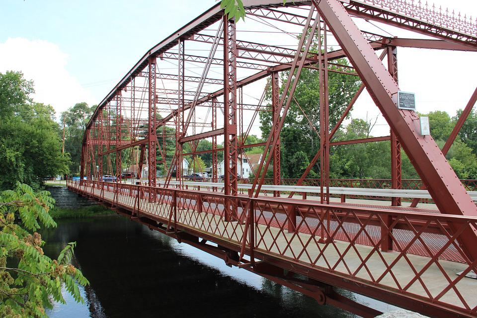Bridge, Historic, River, Scenic, City, Landmark