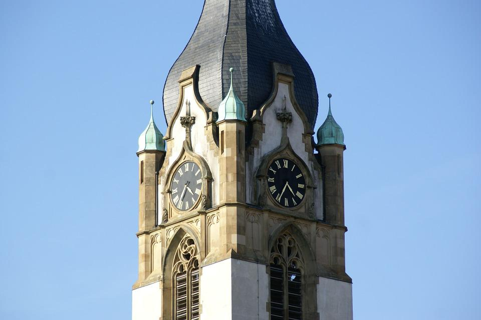 Church, Tower, Architecture, Building, Landmark