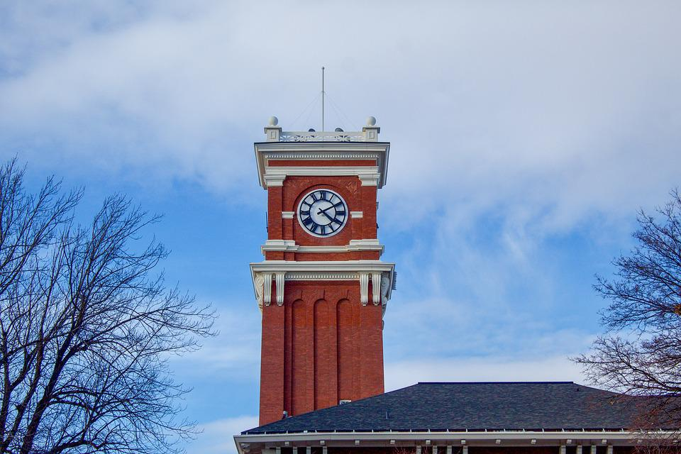 Clock, Tower, Architecture, Big, Building, Landmark