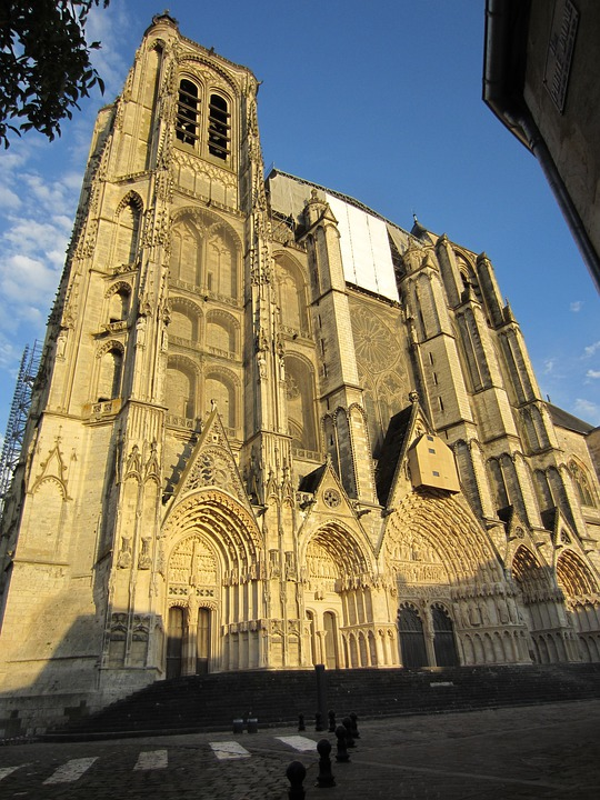 Cathedral, France, Europe, Landmark, Catholic, Heritage