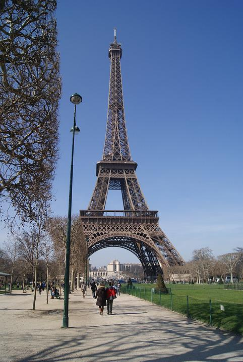 Paris, Eiffel Tower, France, Landmark