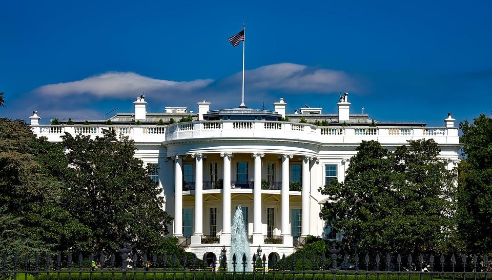 The White House, Washington Dc, Landmark, Historic