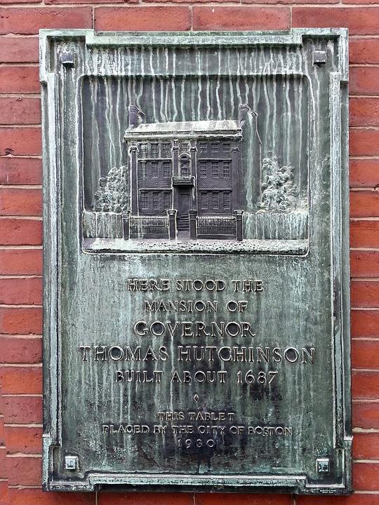 Building, Landmark, Historic, Signage, Boston, Usa