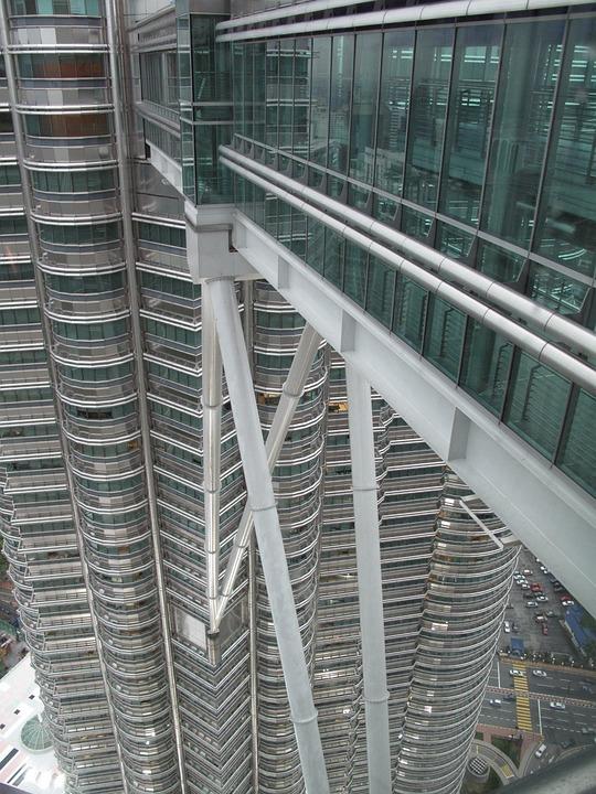 Twin Towers, Malaysia, Architecture, Landmark, Kuala