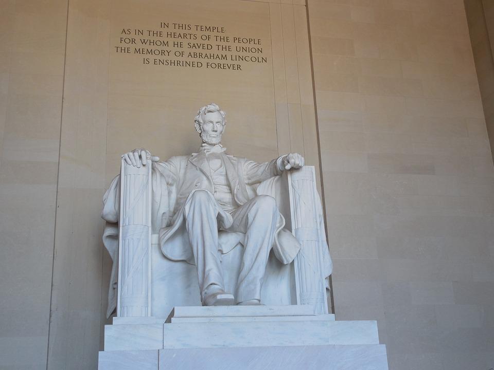 Lincoln, Memorial, Abraham Lincoln, Landmark, City