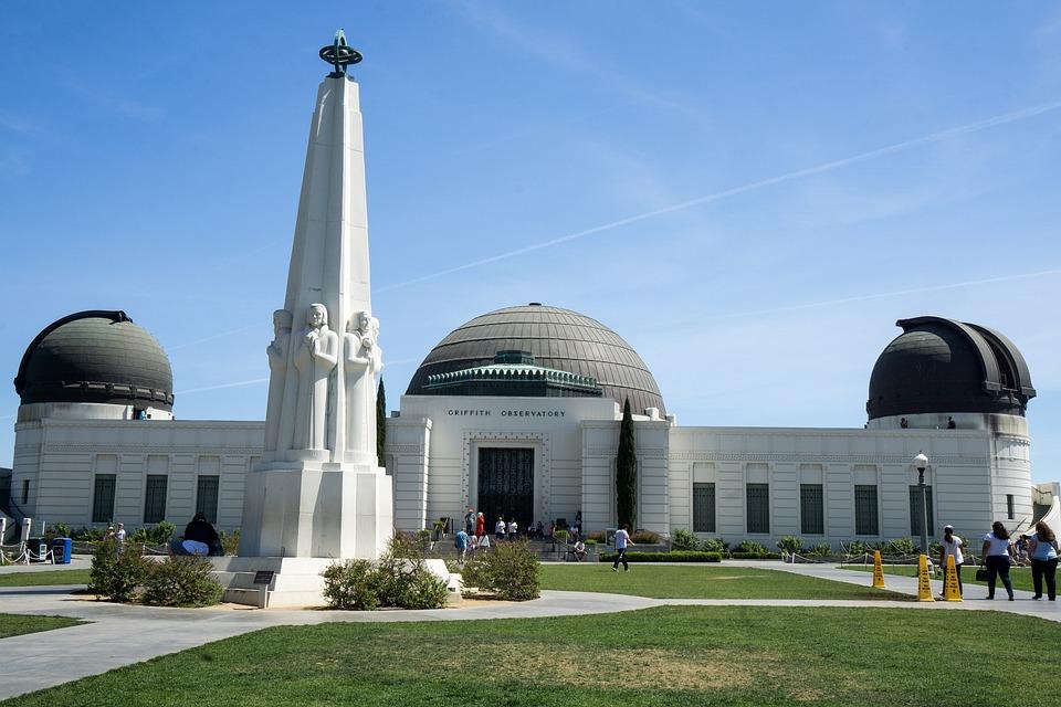 Griffith Observatory, Los Angeles California, Landmark