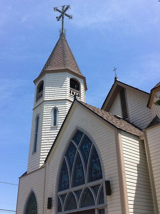 Church, Nc, Religion, Worship, Architecture, Landmark