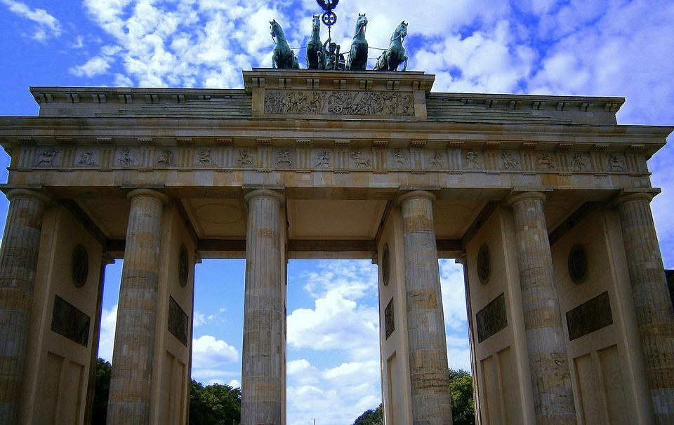 Brandenburg Gate, Paris Burst, Berlin, Landmark, Symbol