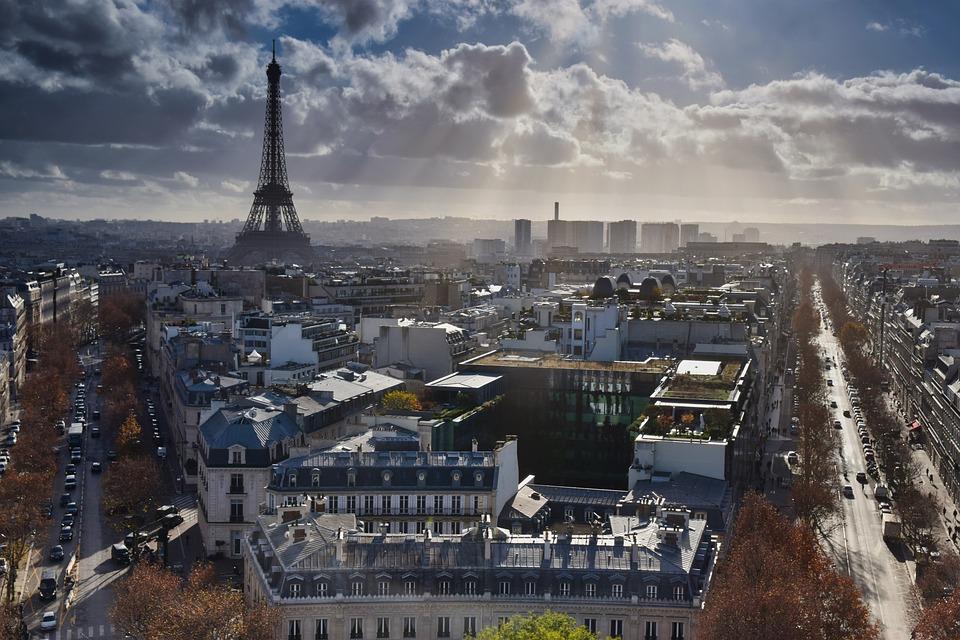 Eiffel Tower, Paris, Places Of Interest, Landmark, City