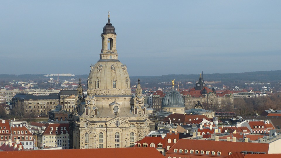 Dresden, Frauenkirche, Saxony, Germany, Landmark