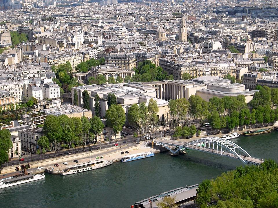 Paris, France, Seine, City, Architecture, Landmark