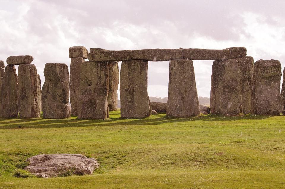 Stonehenge, England, Monument, Ancient, Stone, Landmark