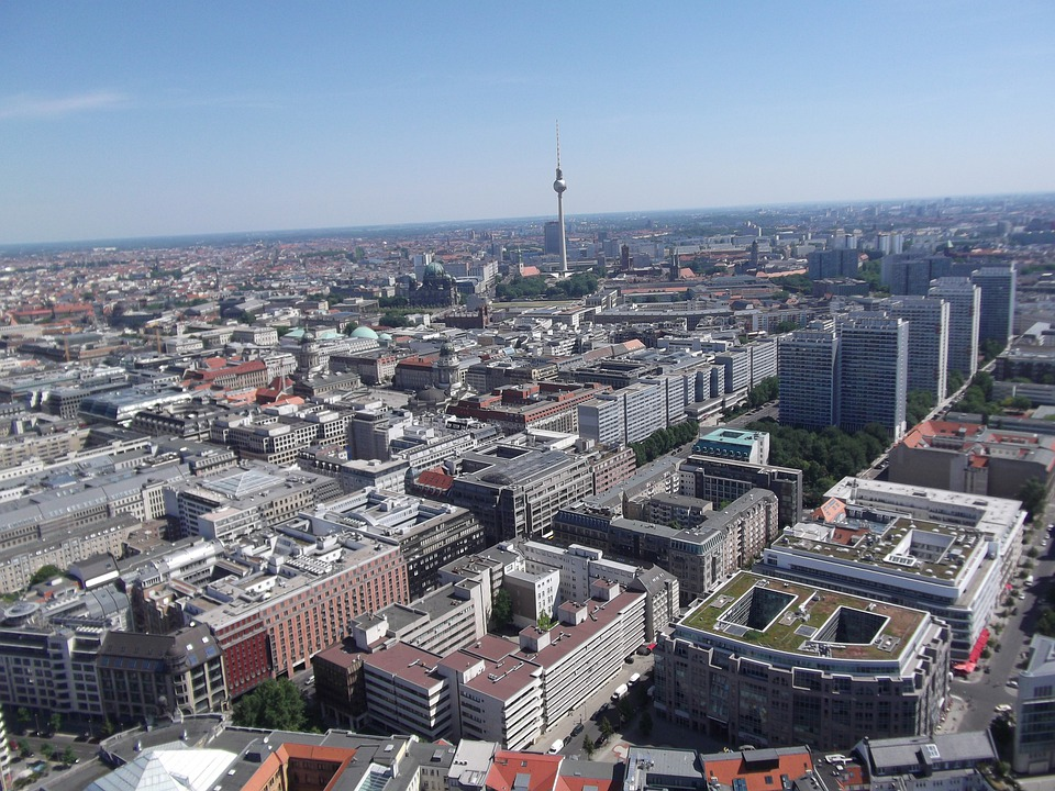 Berlin, Landmark, Tv Tower, Outlook, City, Vision