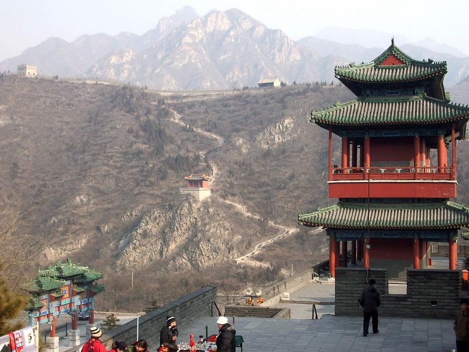 Great, Wall, China, Asia, Landmark, Stone, Architecture