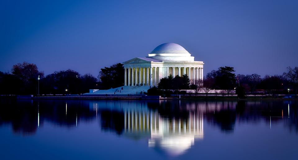 Jefferson Memorial, Washington Dc, C, Landmark