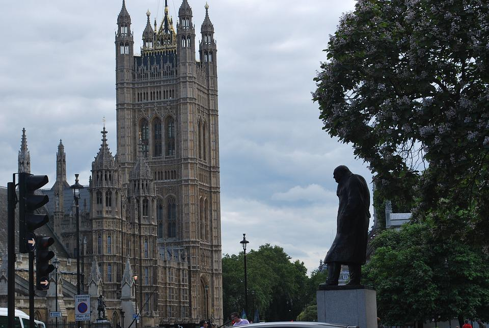 Winston Churchill, Westminster, London, Landmark
