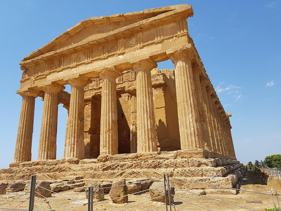 The Valley Of The Temples, Agrigento, Landscape