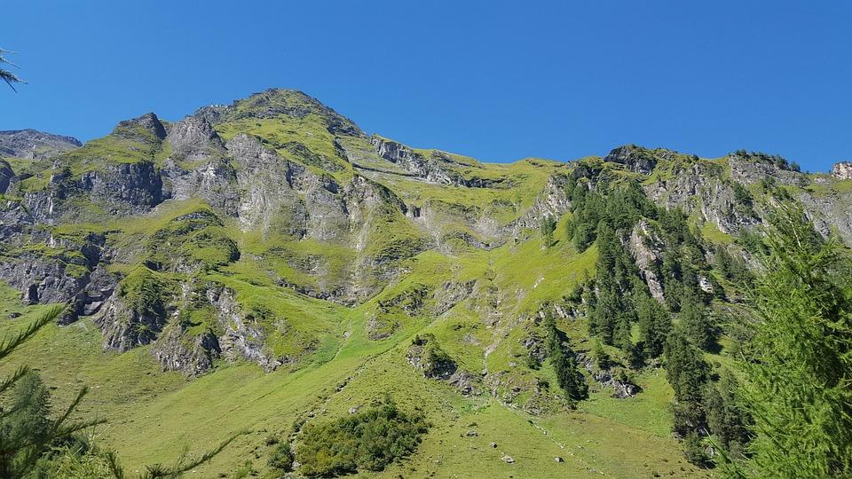 Mountain, Alm, Alpine, Landscape, Mountain Landscape
