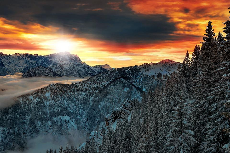 Mountains, Landscape, Alpine, Nature, Upper Bavaria