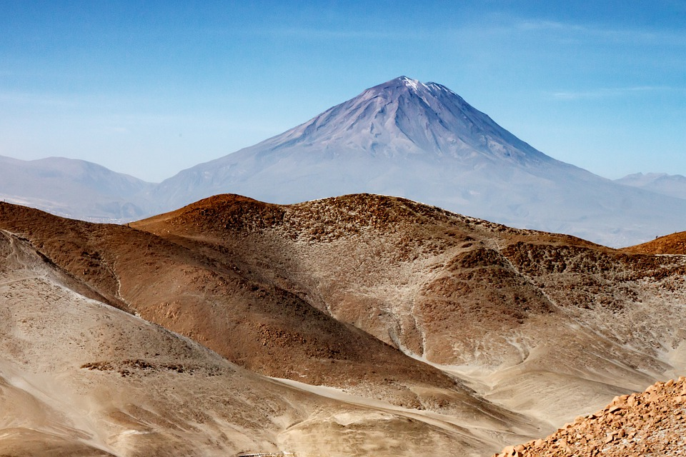 Peru, Andes, South America, Mountains, Landscape, Fog