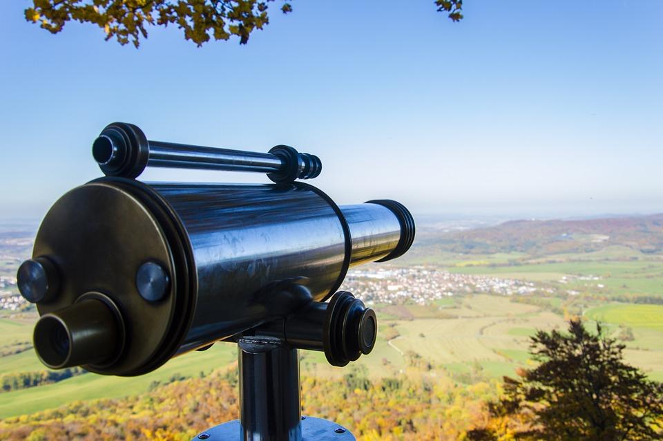 Autumn, Swabian Alb, Telescope, Nature, Landscape, Alb