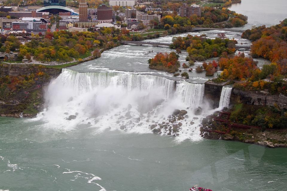 Water, Falls, Waterfall, Nature, Landscape, Autumn